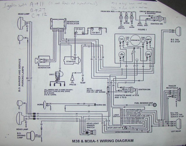 kendall's wiring diagram