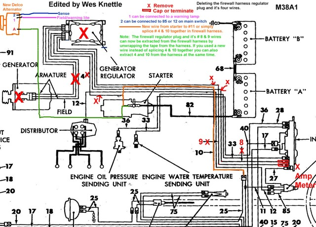 willys jeep wiring diagram willys wiring diagrams online m38a1 jeep wiring diagram