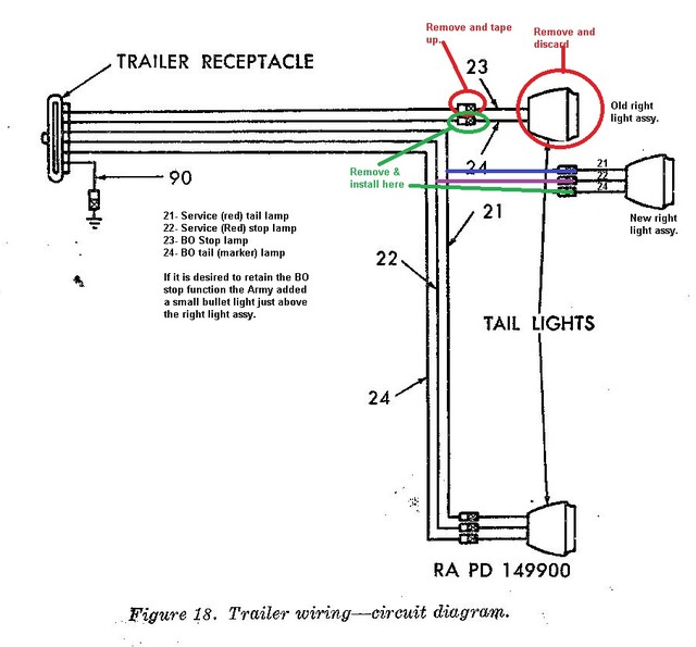 military trailer wiring connector download wiring diagrams u2022 rh osomeweb com 6-Way Trailer Plug Wiring Diagram 7-Way Trailer Wiring