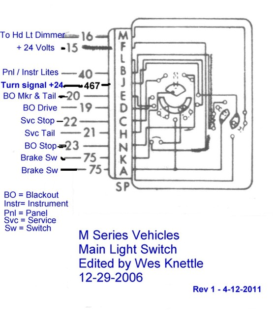 Willys M Jeeps Forumsviewtopicmaking A 24 Volt Wiring Harness For An M38 Jeep: M38 Jeep Wiring Diagram At Anocheocurrio.co