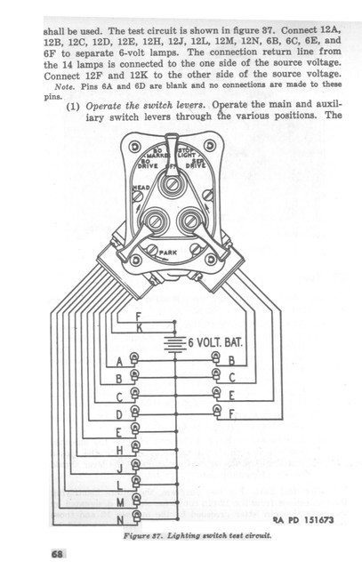 m38a1 wiring diagram light switch   33 wiring diagram