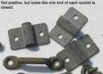 M38A1 Lower door rod sockets