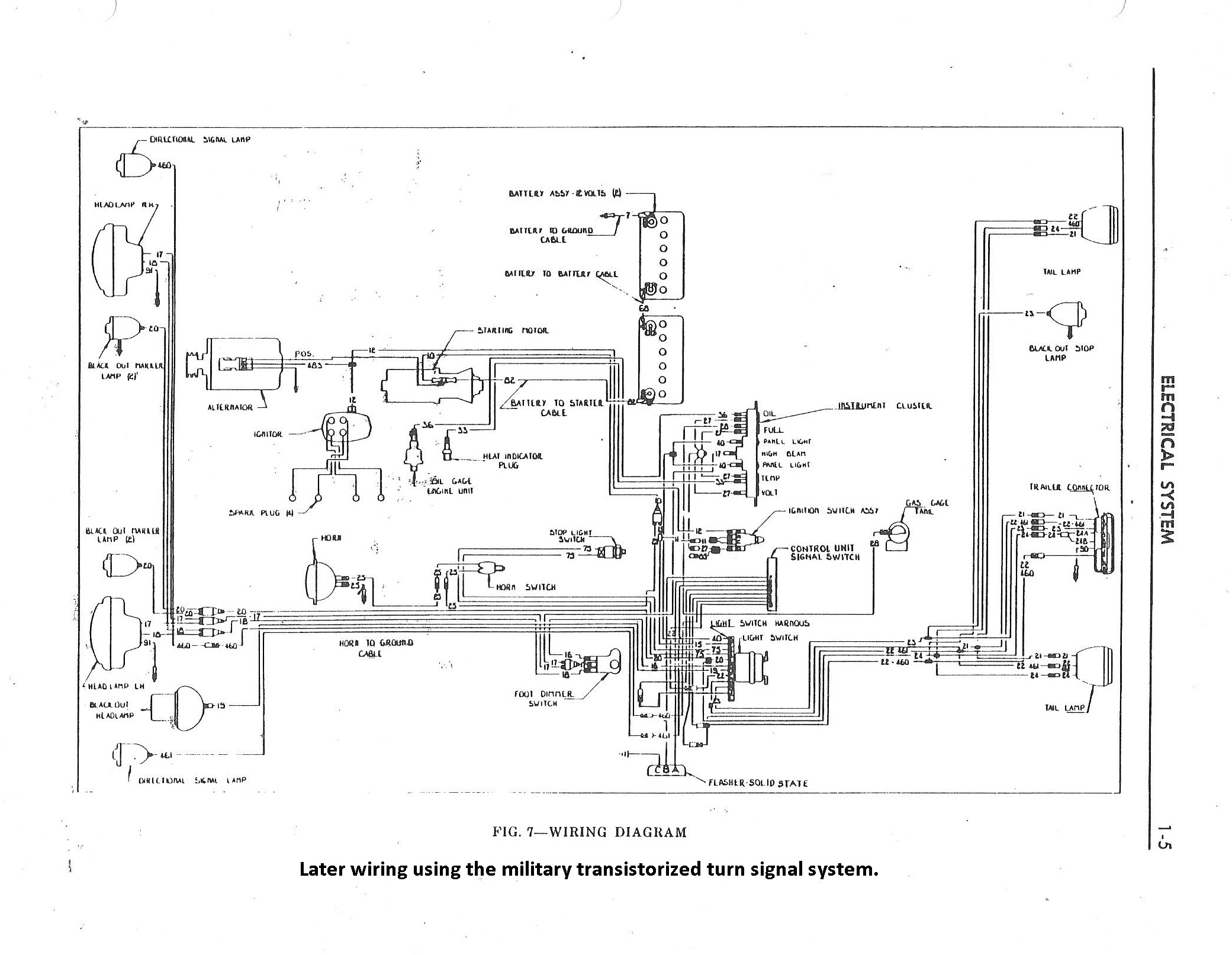 willys m jeeps forums viewtopic 1970 m38 can 3 electrical schematic