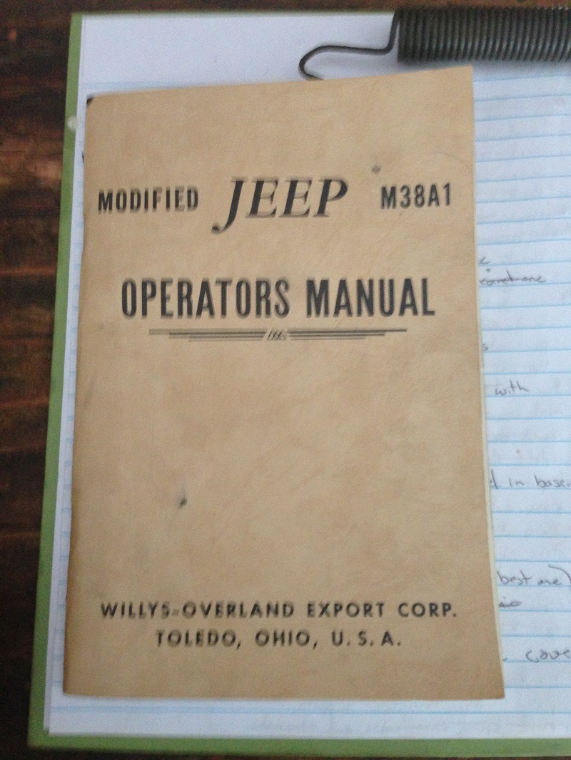Willys M Jeeps Forums Viewtopic Modified M38a1 Operators Manual Trailer Wiring Diagram For Receptacle The Rest Of Shows Features As A Cj 5 Such Gauage Cluster Etc I Only Had Heard It Or And Not Referenced In Any Other Way