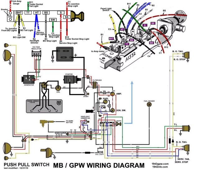 1955 willys jeep wiring diagram 1949 willys jeep wiring diagram 1948 willys jeep wiring diagram #4