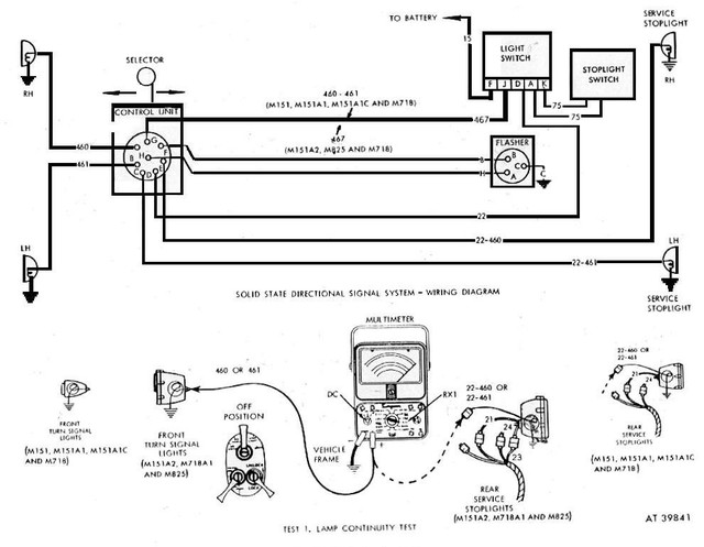 Signal Stat Turn Signal Switch Wiring Diagram from willysmjeeps.com