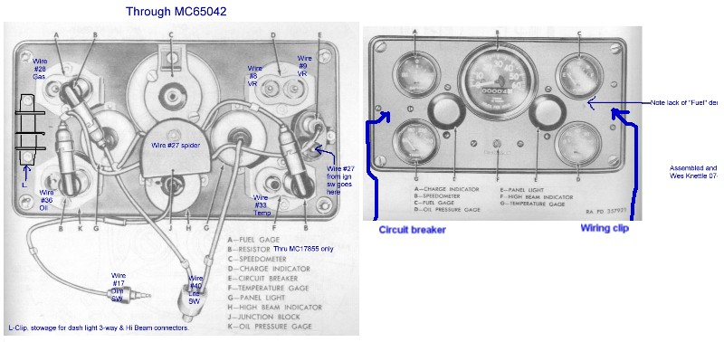 Willys M Jeeps Forums viewtopic M38 gauges