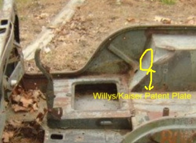 Willys M Jeeps Forumsviewtopic1964 M38a1 Research Helprhwillysmjeeps: Jeep Willys Engine Serial Number Location At Gmaili.net